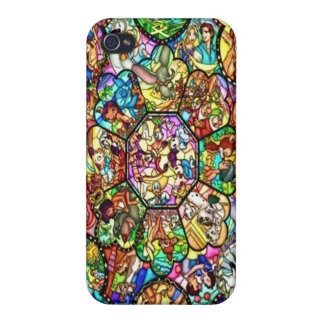 All Characters Stained Glass  iPhone 4 case