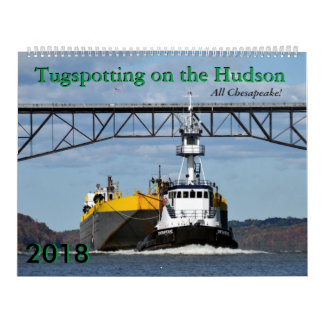 All Chesapeake! 2018 Tugspotting calendar