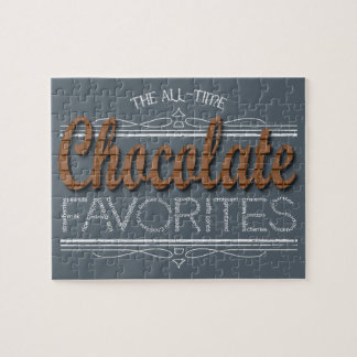 All Chocolate Favorites Jigsaw Puzzle