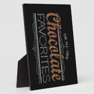 All Chocolate Favorites Plaque
