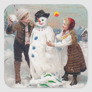 All Christmas Joy Be Yours Square Sticker