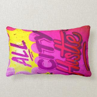 All City Hustle Streetart Pillow