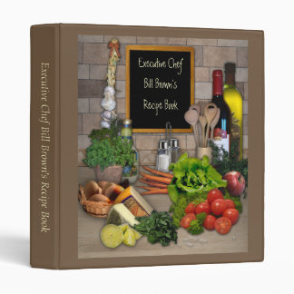 All customizable Kitchen Binder