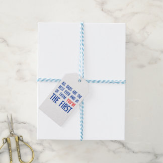 All Dads Are The Best Gift Tags