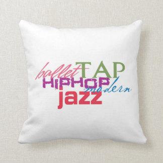 All Dances Throw Pillow