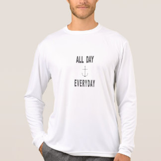 All Day Everyday Anchor Sailing T-Shirt