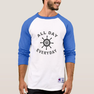 All Day Everyday Sailing Wheel T-Shirt