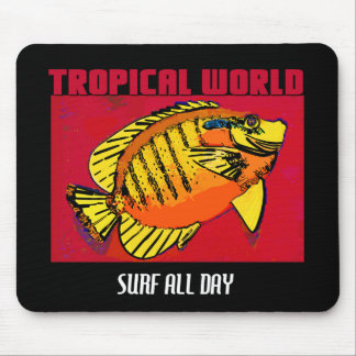 ALL DAY SURF MOUSE PAD