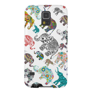All Different Elephants Illustration Case For Galaxy S5