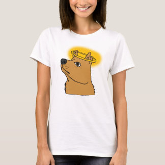 All Dogs Go To Heaven Hand-drawn Cartoon T-Shirt