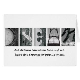 All Dreams Come True Greeting Card
