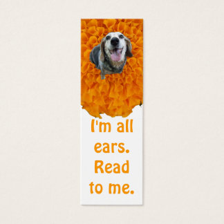 All Ears Bookmark Mini Business Card