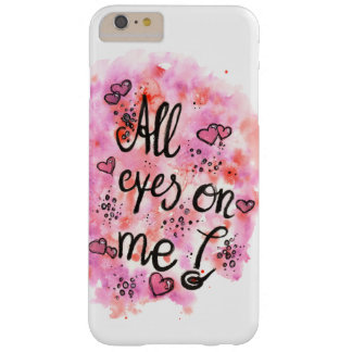 All eyes on ME mobile phone covering Barely There iPhone 6 Plus Case