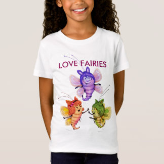 ALL FAIRIES CUTE BUTTERLFIES Babydoll T-Shirt