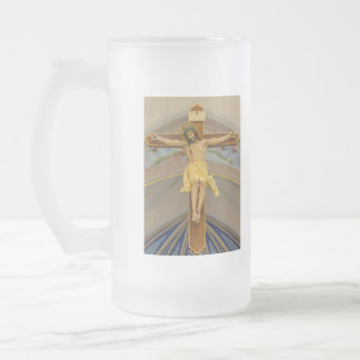 All For You Frosted Glass Beer Mug