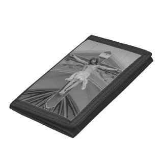 All For You Grayscale Tri-fold Wallet