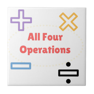 All Four Operations Tile