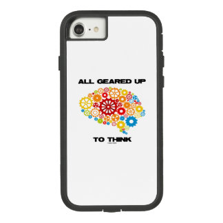 All Geared Up To Think Brain Gears Psyche Engineer Case-Mate Tough Extreme iPhone 8/7 Case