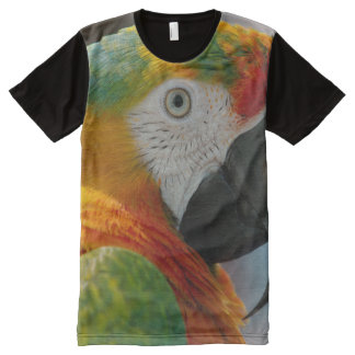 All God's Creatures Macaw Print All-Over-Print T-Shirt