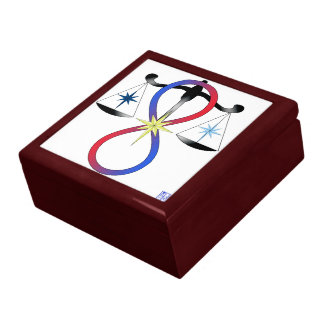 All Gods Universal Power Color - Religious Symbol Keepsake Box