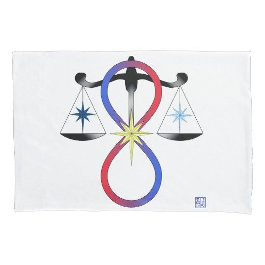All Gods Universal Power Colour - Religious Symbol Pillowcase