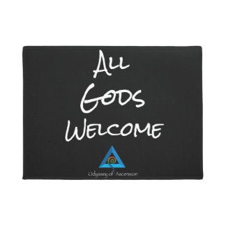 All Gods Welcome Doormat