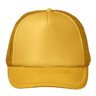 All Gold Yello 12 other color choices template fun Trucker Hat