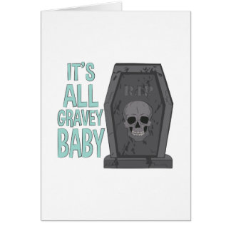 All Gravey Baby Card
