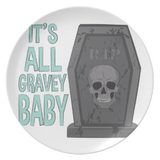 All Gravey Baby Party Plate