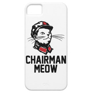 All hail Chairman Meow iPhone 5 Case