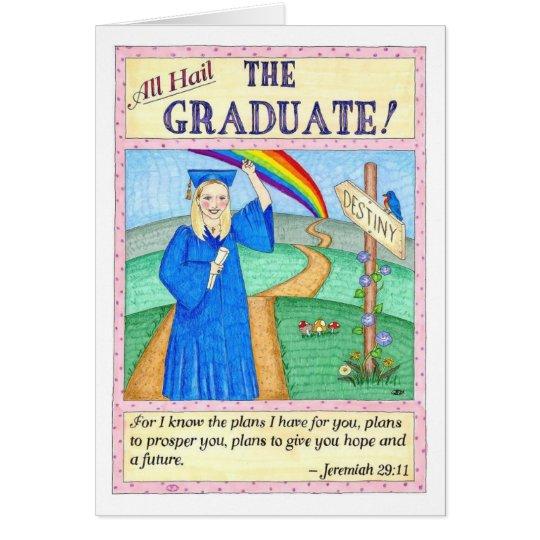 All Hail the Graduate Graduation Card
