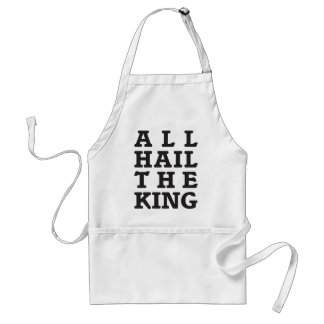 All Hail the King Standard Apron