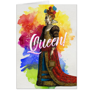 All Hail the Queen Greeting Card