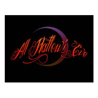 All Hallow's Eve Postcard