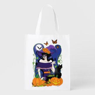All Hallow's Eve Reusable Grocery Bag