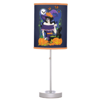 All Hallow's Eve Table Lamp