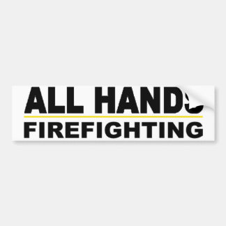 All Hands Bumper Sticker