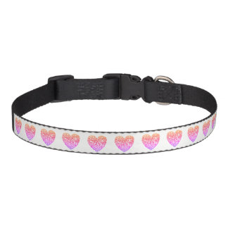 All Heart Pink Hearts Dog or Cat Collar