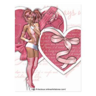 All Heart - Postcard
