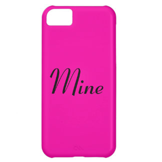 All Hot Pink Nothing But Color Pink iPhone 5C Covers