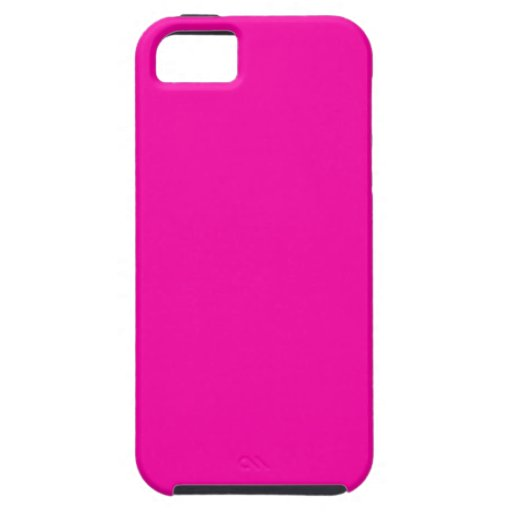 All Hot Pink Nothing But Color Pink iPhone 5 Covers
