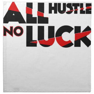 All Hustle No Luck Napkin
