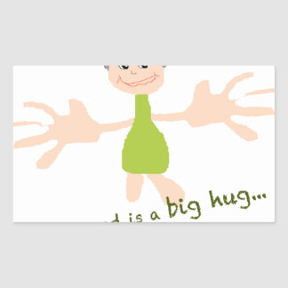 All I need is a big hug - Graphic and text Sticker