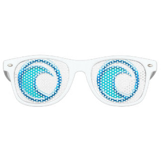 All I Sea are Waves II Retro Sunglasses