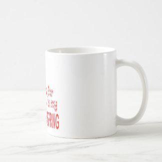 All I want Back Handspring Coffee Mug