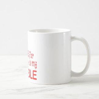 All I want Double Classic White Coffee Mug