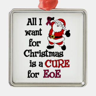 All I Want For Christmas...EoE Metal Ornament