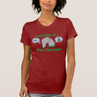All I want for Christmas is a greyhound! T-Shirt