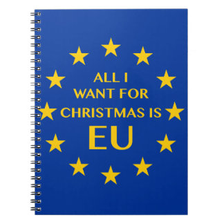 All I want for Christmas is EU Notebooks