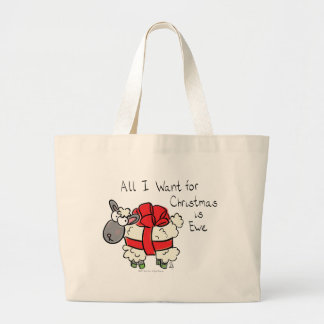 All I Want For Christmas is Ewe Tote Bag
